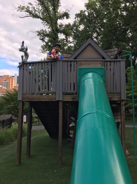 Children's Inn outdoor play area